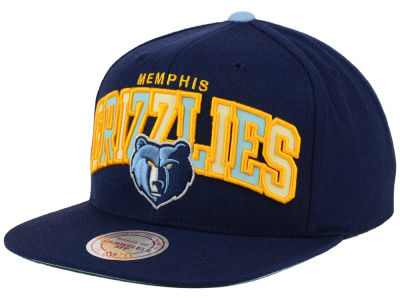 Memphis Grizzlies Mitchell and Ness NBA Reflective Tri Pop Snapback Cap