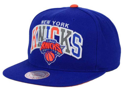 New York Knicks Mitchell and Ness NBA Reflective Tri Pop Snapback Cap