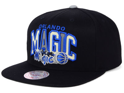 Orlando Magic Mitchell and Ness NBA Reflective Tri Pop Snapback Cap