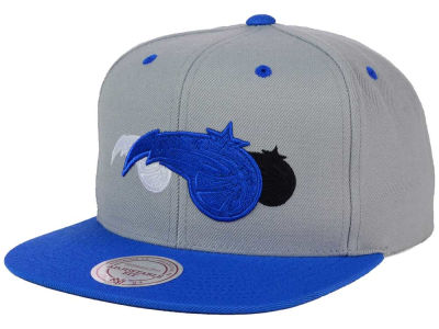 Orlando Magic Mitchell and Ness NBA Triple Color Stack Snapback Cap