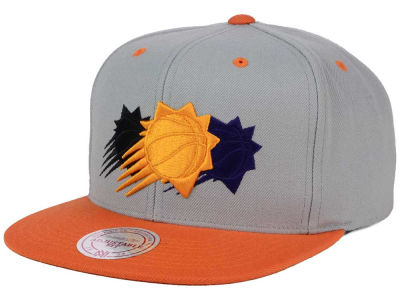 Phoenix Suns Mitchell and Ness NBA Triple Color Stack Snapback Cap