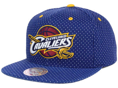Cleveland Cavaliers Mitchell and Ness NBA Dotted Cotton Snapback Cap