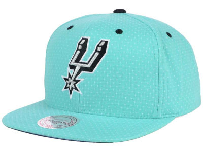 San Antonio Spurs Mitchell and Ness NBA Dotted Cotton Snapback Cap