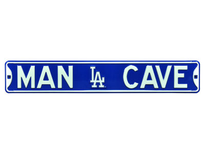 Los Angeles Dodgers Authentic Street Sign Man Cave