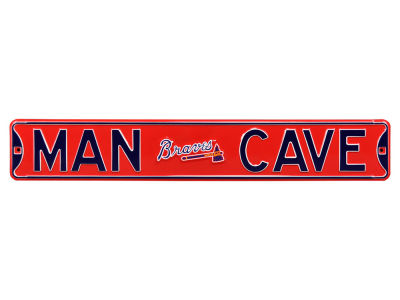 Atlanta Braves Authentic Street Signs Authentic Street Sign Man Cave