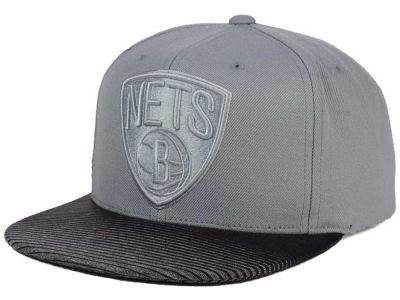 Brooklyn Nets Mitchell & Ness NBA City Undervisor Snapback Cap