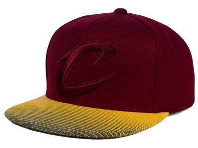 Cleveland Cavaliers Mitchell and Ness NBA City Undervisor Snapback Cap