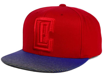 Los Angeles Clippers Mitchell and Ness NBA City Undervisor Snapback Cap