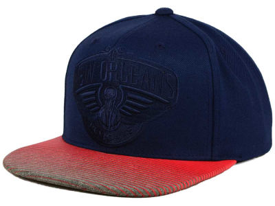 New Orleans Pelicans Mitchell and Ness NBA City Undervisor Snapback Cap
