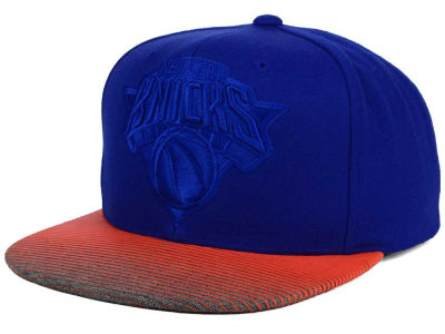 New York Knicks Mitchell and Ness NBA City Undervisor Snapback Cap