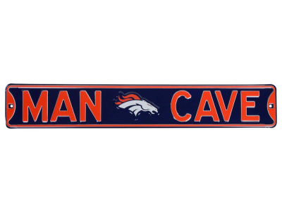 Denver Broncos Authentic Street Sign Man Cave