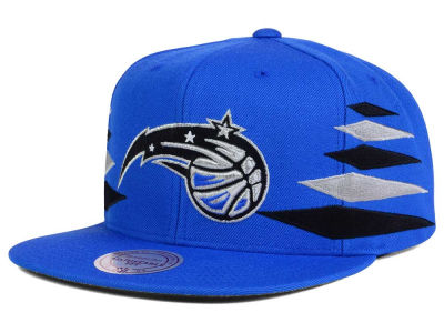 Orlando Magic Mitchell and Ness NBA Solid Diamond Snapback Cap
