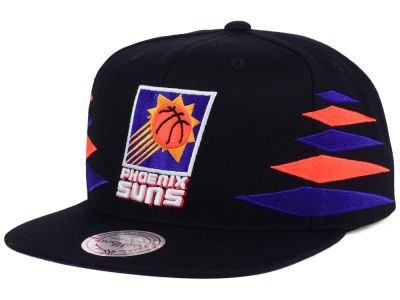 Phoenix Suns Mitchell and Ness NBA Solid Diamond Snapback Cap