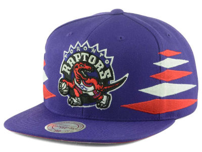Toronto Raptors Mitchell and Ness NBA Solid Diamond Snapback Cap