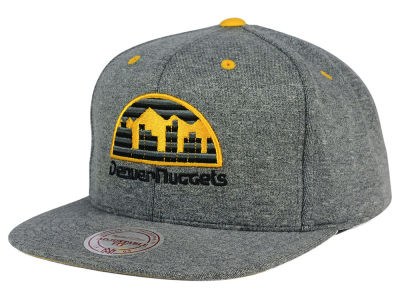 Denver Nuggets Mitchell and Ness NBA Broad Street 2.0 Snapback Cap
