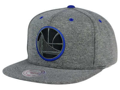 Golden State Warriors Mitchell and Ness NBA Broad Street 2.0 Snapback Cap