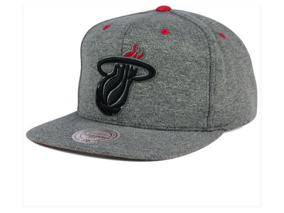 Miami Heat Mitchell and Ness NBA Broad Street 2.0 Snapback Cap
