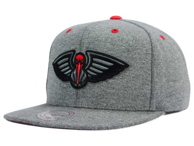New Orleans Pelicans Mitchell and Ness NBA Broad Street 2.0 Snapback Cap