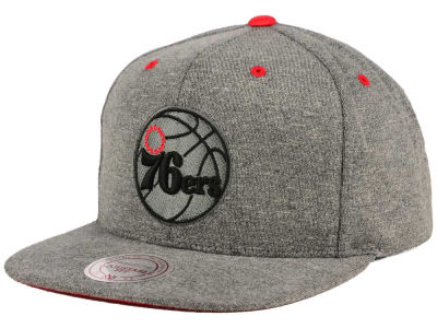 Philadelphia 76ers Mitchell and Ness NBA Broad Street 2.0 Snapback Cap