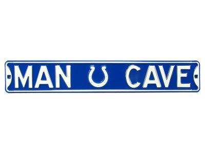 Indianapolis Colts Authentic Street Sign Man Cave