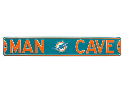 Miami Dolphins Authentic Street Sign Man Cave