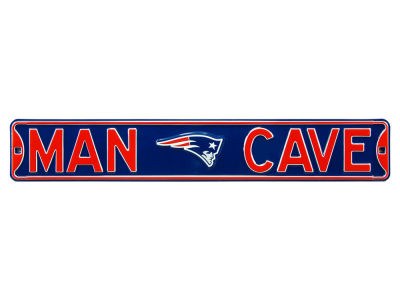 New England Patriots Authentic Street Sign Man Cave