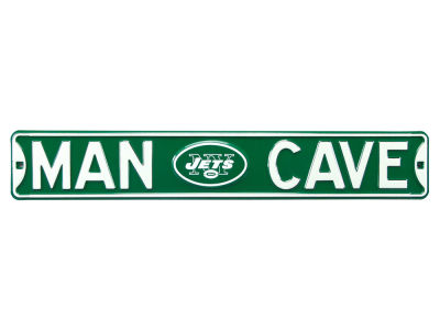 New York Jets Authentic Street Sign Man Cave