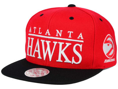 Atlanta Hawks Mitchell and Ness NBA Top Shelf Snapback Cap