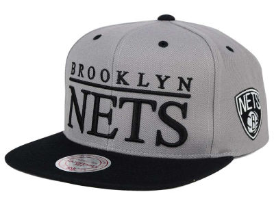 Brooklyn Nets Mitchell & Ness NBA Top Shelf Snapback Cap