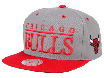Chicago Bulls Mitchell and Ness NBA Top Shelf Snapback Cap