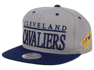 Cleveland Cavaliers Mitchell and Ness NBA Top Shelf Snapback Cap