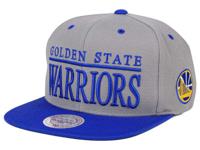 Golden State Warriors Mitchell and Ness NBA Top Shelf Snapback Cap
