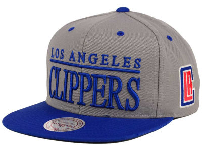Los Angeles Clippers Mitchell and Ness NBA Top Shelf Snapback Cap