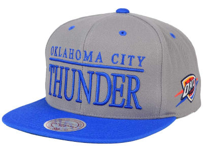 Oklahoma City Thunder Mitchell and Ness NBA Top Shelf Snapback Cap