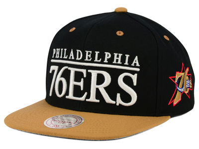 Philadelphia 76ers Mitchell and Ness NBA Top Shelf Snapback Cap