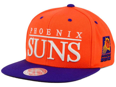Phoenix Suns Mitchell and Ness NBA Top Shelf Snapback Cap