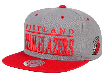 Portland Trail Blazers Mitchell and Ness NBA Top Shelf Snapback Cap