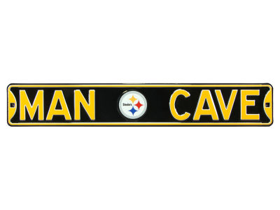 Pittsburgh Steelers Authentic Street Sign Man Cave