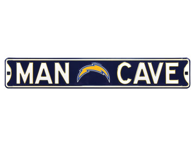Los Angeles Chargers Authentic Street Sign Man Cave