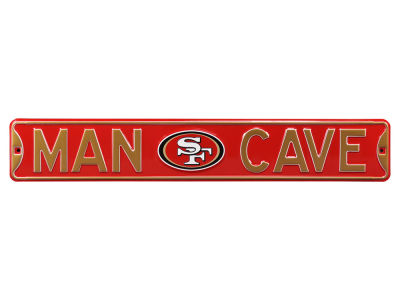 San Francisco 49ers Authentic Street Sign Man Cave