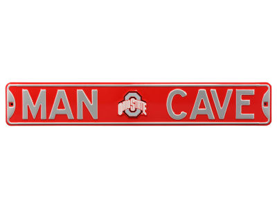 Ohio State Buckeyes Authentic Street Sign Man Cave