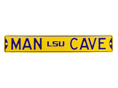 LSU Tigers Authentic Street Sign Man Cave