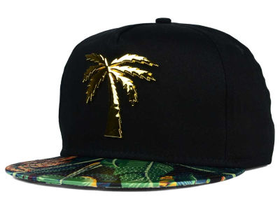 BLVD Palm B. Trills Metal Snapback Hat