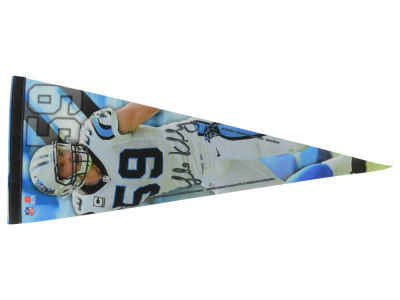 Carolina Panthers Luke Kuechly 12x30 Premium Player Pennant