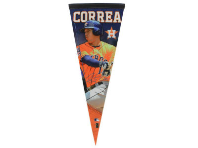 Houston Astros Carlos Correa 12x30 Premium Player Pennant