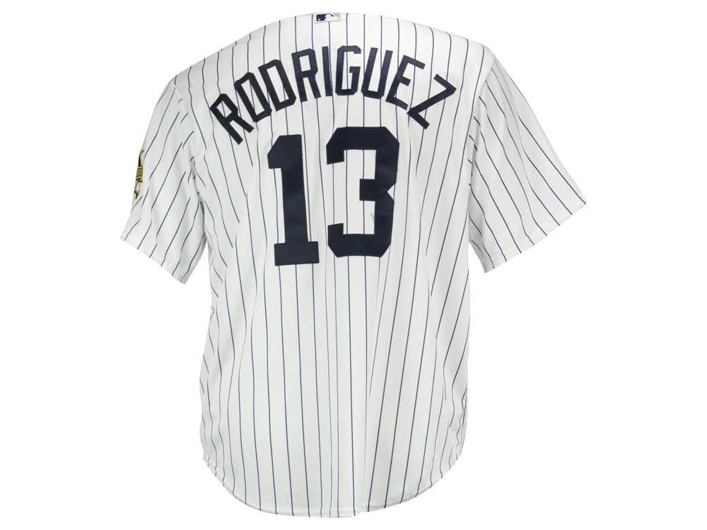 New York Yankees Alex Rodriguez Majestic MLB Men s Commemorative Replica CB  Jersey  c602a0b5a10