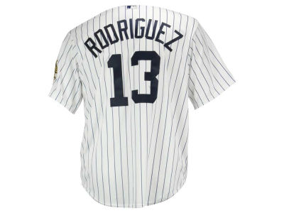 New York Yankees Alex Rodriguez Majestic MLB Men's Commemorative Replica CB Jersey