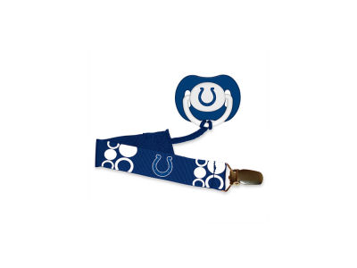 Indianapolis Colts Pacifier With Clip
