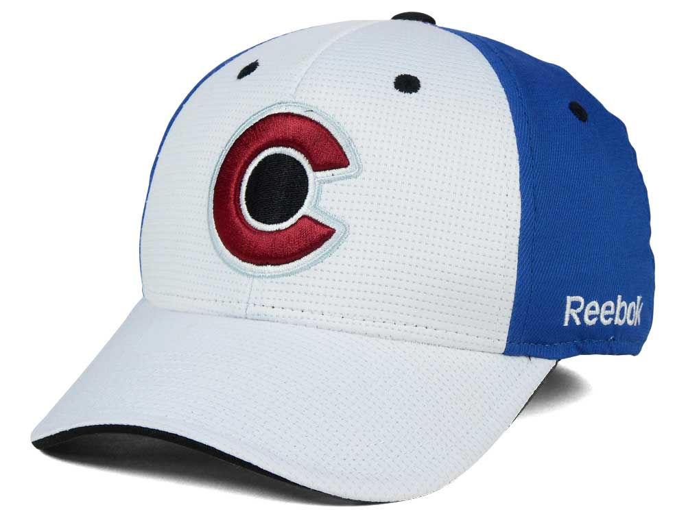 Colorado Avalanche Reebok NHL 2015-2016 Stadium Series Coaches Flex Cap  e441975e6