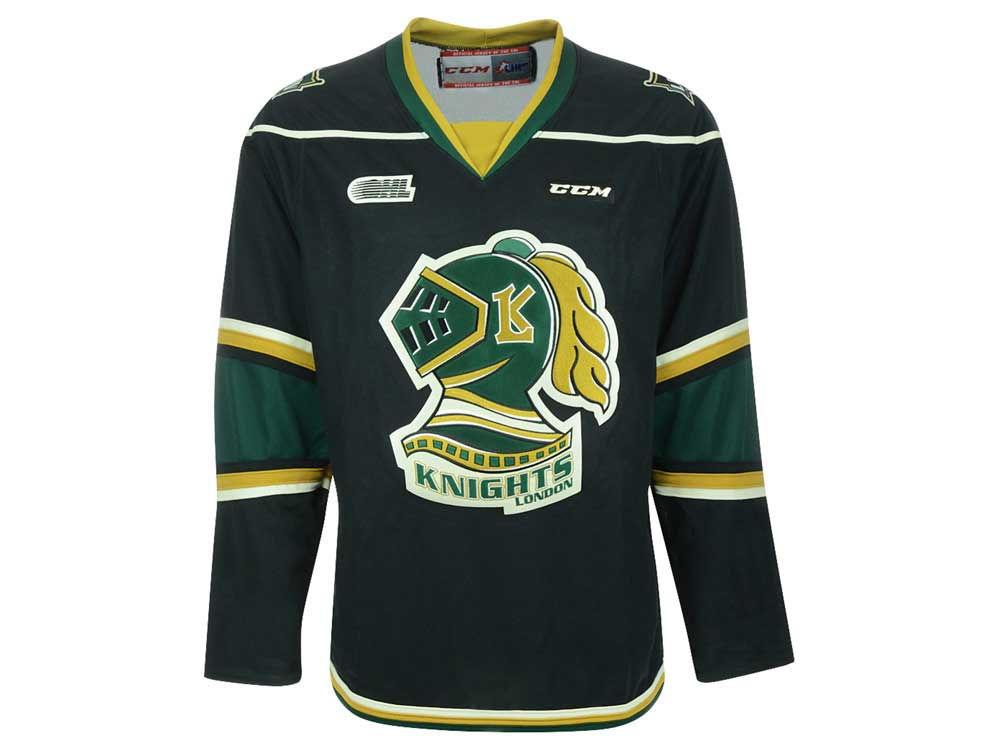 bd126ce59 ... usa hockey jersey alternate yellow london knights reebok chl mens  premier jersey 1045b 33359
